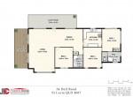 34 Dell Road St Lucia - Floor Plan - Web